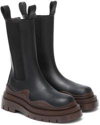 Bottega Veneta The Tire Boots - Schwarz