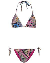 Etro Bikini a stampa - Multicolore
