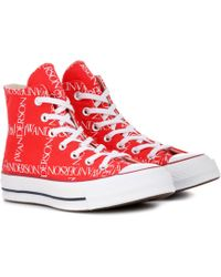 JW Anderson X Converse Chuck 70 Logo-print Sneakers - Multicolor