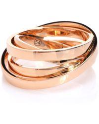 Repossi Ring Technical Berbere aus 18kt Roségold - Pink