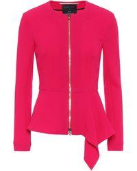 Roland Mouret Exclusive To Mytheresa – Delen Wool Jacket - Pink