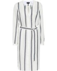 Rag & Bone - Alyse Cotton And Linen Dress - Lyst