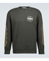 Adish Sukkar Mejwez Cotton Sweatshirt - Black