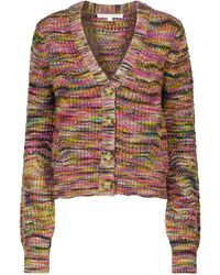 Veronica Beard Cardigan Dolra en laine - Multicolore