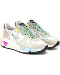 Golden Goose - Running Sole Suede Sneakers - Lyst