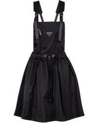 Prada Robe en nylon - Noir
