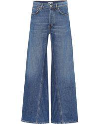 Ganni - High-waisted Flared Jeans - Lyst