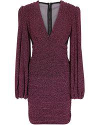 Rebecca Vallance Bam Bam Knit Minidress - Pink
