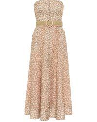 Zimmermann 'Carnaby' Kleid - Pink