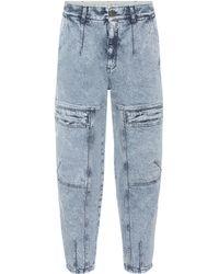 Stella McCartney Leane 80s Wash Jeans - Blue