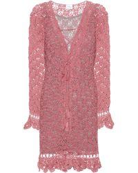 Anna Kosturova Summer Cotton Dress - Pink