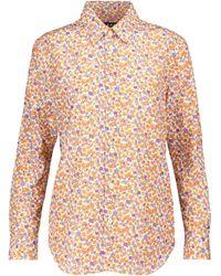 A.P.C. Hemd Gina aus einem Seidengemisch - Orange