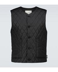 Mackintosh Hig Quilted Nylon Gilet - Black