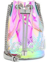 Christian Louboutin Mary Jane Pvc Bucket Bag - Multicolor