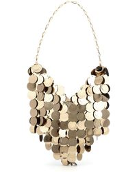 Paco Rabanne Sparkle Hobo Shoulder Bag - Metallic