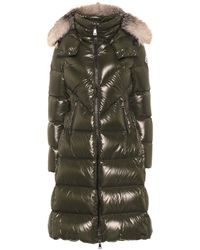 Moncler Ribafur Quilted Down Coat - Green