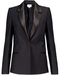 Victoria, Victoria Beckham Wool And Mohair Blazer - Black