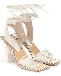 Jacquemus Les Sandales Valerie Hautes Sandals - White
