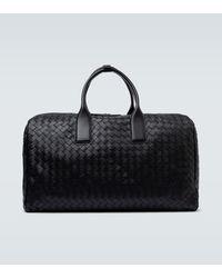 Bottega Veneta Intrecciato Icon Duffel Bag - Black
