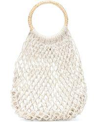 Kayu Amara Cotton Tote - White