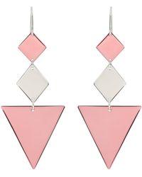 Isabel Marant Let S D Metal Earrings - Metallic