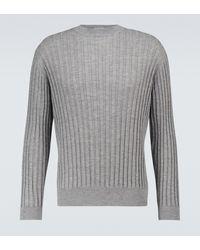 AURALEE Pullover in cashmere - Grigio