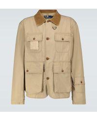 Polo Ralph Lauren Exklusiv bei Mytheresa – Jacke Paxton aus Baumwolle - Natur