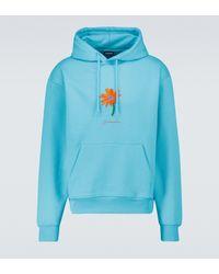 Jacquemus Le Sweatshirt Pistoun Hooded Sweatshirt - Blue