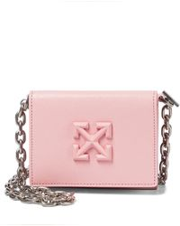 Off-White c/o Virgil Abloh Schultertasche Jitney - Pink