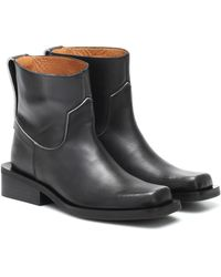 Ganni Low Mc Boots - Black