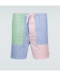 Polo Ralph Lauren Shorts relaxed-fit Graduate - Multicolore
