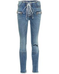 Unravel Project Skinny-leg Jeans - Blue