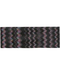 Missoni Knit Headband - Black