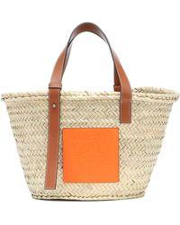 Loewe Paula's Ibiza Medium Basket Bag - Multicolour