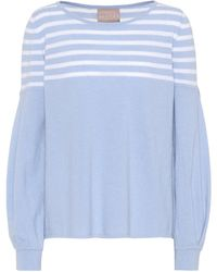 81hours Inga Wool And Cashmere Sweater - Blue