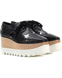 Stella McCartney - Elyse Star Platform Derby Shoes - Lyst