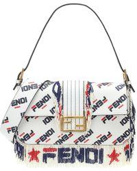 Fendi - Mania Baguette Shoulder Bag - Lyst