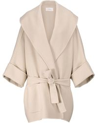 The Row Saki Wool, Silk And Cashmere Jacket - White