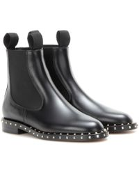 Valentino - Embellished Chelsea Boots - Lyst