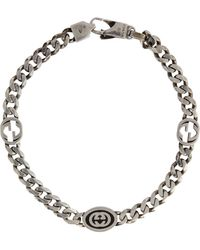 Gucci Bracelet GG en argent sterling - Métallisé