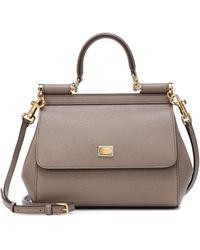 Dolce & Gabbana Sicily Small Leather Shoulder Bag - Multicolour