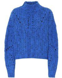 Isabel Marant Pullover in lana - Blu
