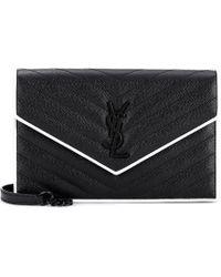 Saint Laurent - Monogram Envelope Shoulder Bag - Lyst