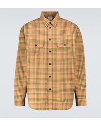 Visvim Handyman Long-sleeved Checked Shirt - Green