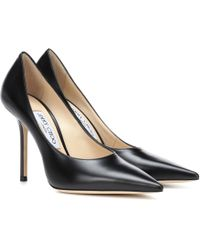 Jimmy Choo - Ava 100 Leather Pumps - Lyst