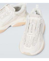 Amiri Sneakers Skeleton in pelle - Bianco