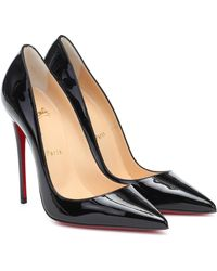 Christian Louboutin So Kate 120 Pumps Aus Lackleder - Schwarz