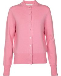 Extreme Cashmere Cardigan N° 99 Little - Pink