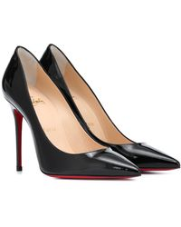 Christian Louboutin Pumps Kate 554 in vernice - Nero