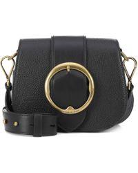 Polo Ralph Lauren - Lennox Leather Crossbody Bag - Lyst